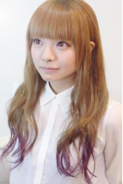 ラブ美髪ピンクグラデーションスウィートロング