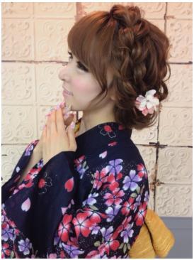 カチューシャ編み込み☆モテガーリーヘアアレンジ