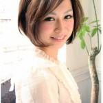 小顔で顔を包み込むカット☆大人の女性スタイル