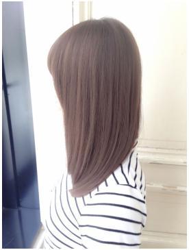 ルミエールカラー美髪かわいいボブ