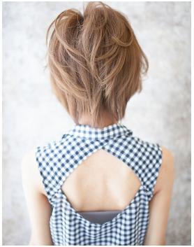 大人ショート!やわらかツヤ髪の美髪スタイル!