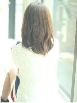 やわらか美髪☆大人かわいいナチュラルミディアム!!