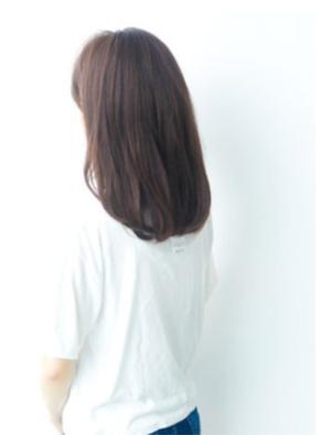 かわいい☆おしゃれ☆黒髪でも似合うAラインパーマ
